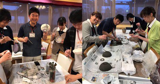 働きながら趣味や知識の幅が広がる! ご利用者様と一緒に色々な事を体験!~陶芸教室~